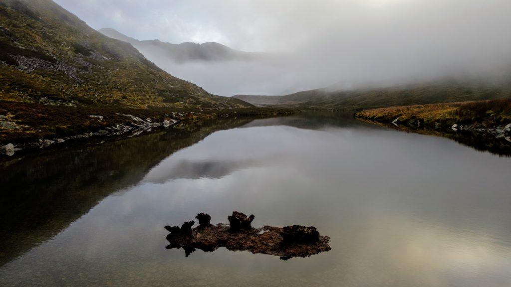 Eerie stillness on Lough Eighter