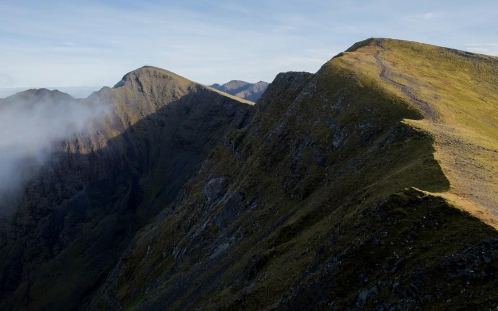 The third Caher peak