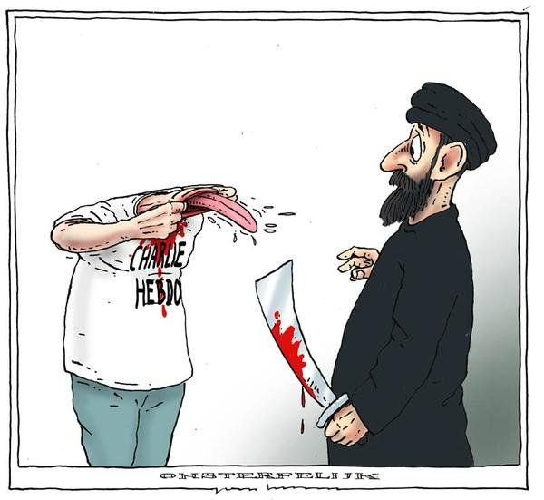 Freedom of Expression - JE Suis Charlie