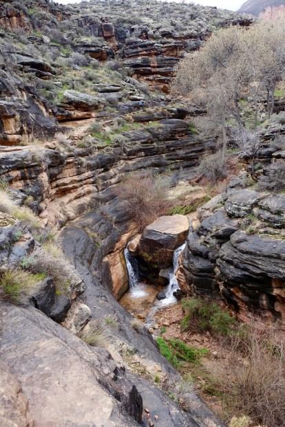 Falls at Indian Garden