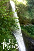 Hiker Moms Silver Falls State Park Silverton Sublimity Oregon Twin Falls Upper North Falls Middle North Falls Winter Falls hike Kids large water falls