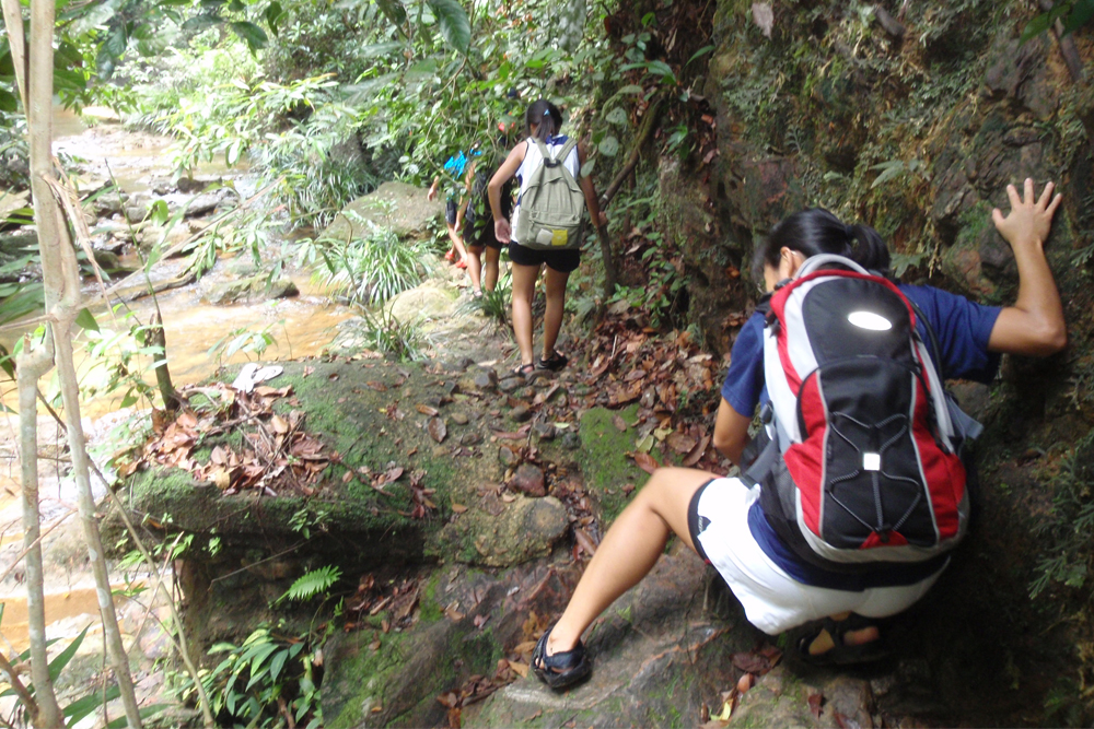 Pelepah Waterfalls - Share My Hikes | Hikers For Life
