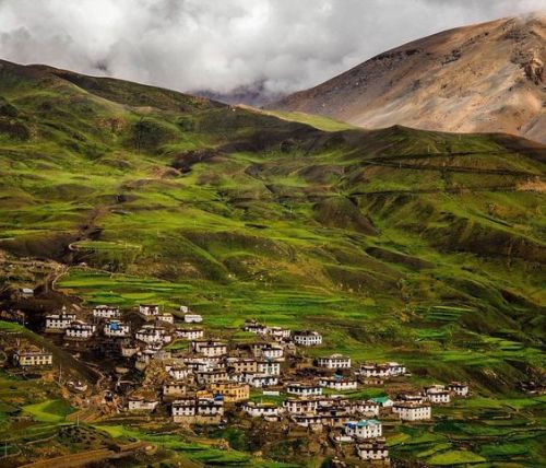 Demul-Village-Spiti-valley