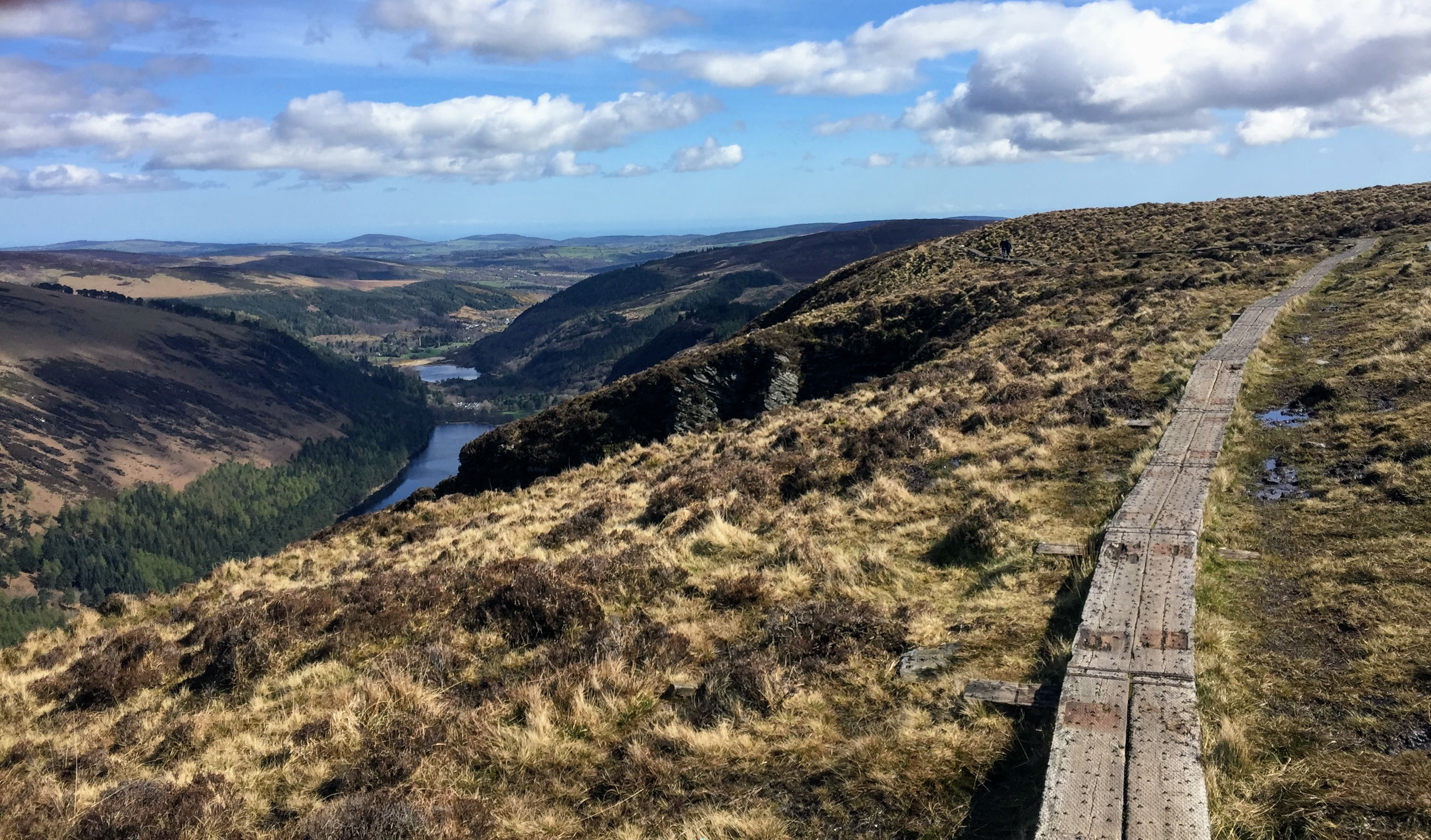 Glendalough Spink Loop (white route)