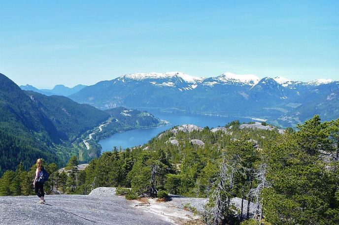 the chief, stawamus chief hiking trail, squamish, hikes near vancouver