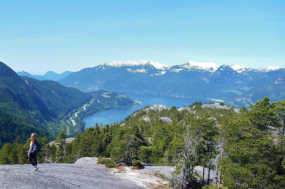the chief, stawamus chief hiking trail, squamish, hikes near vancouver