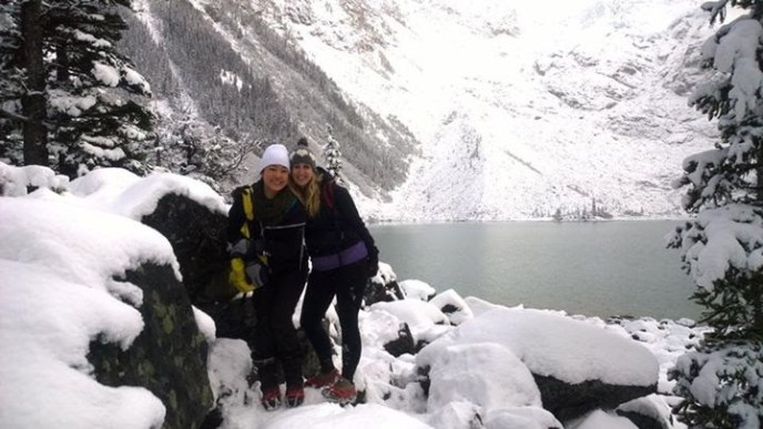 Joffre Lakes, snowshoeing in bc, whistler snowshoe trails, kahtoola microspikes, crampons