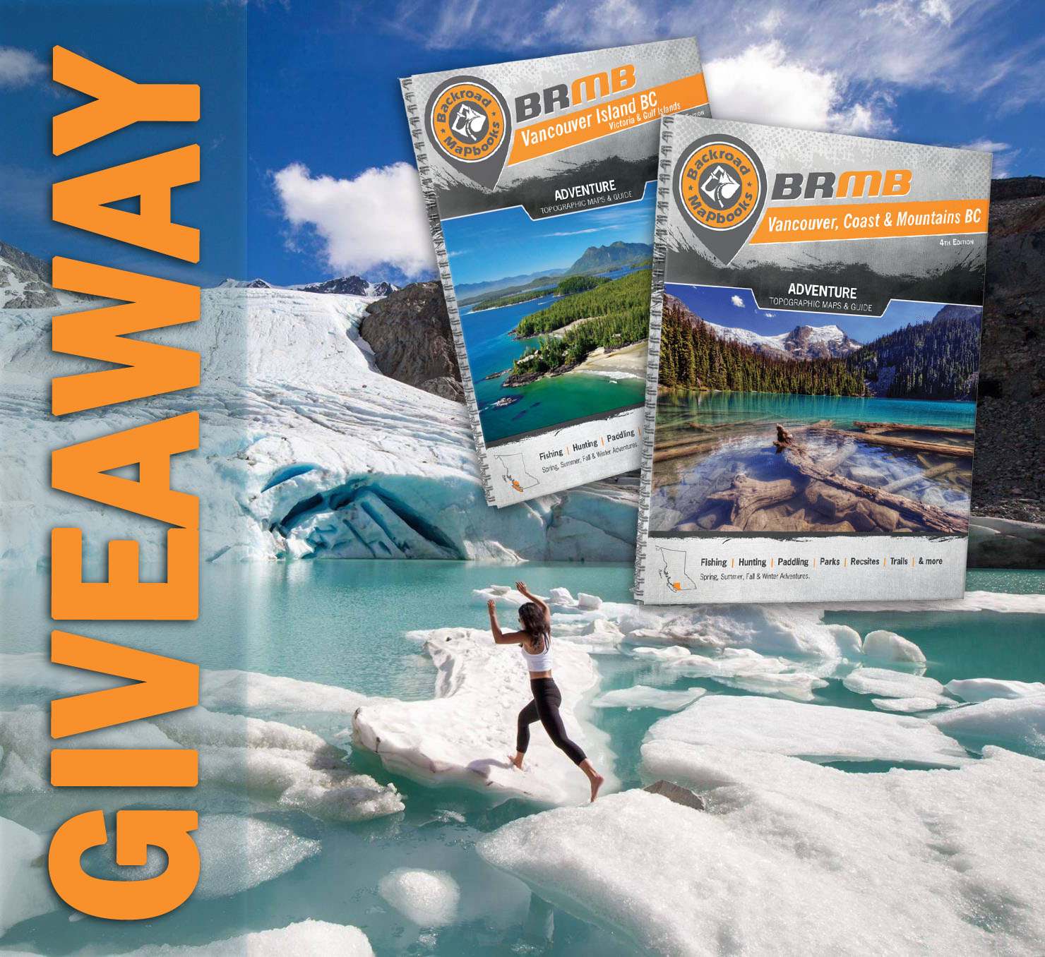 backroad mapbooks giveaway