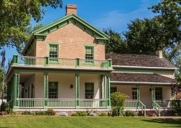 St George Historical Brigham Young Winter Home