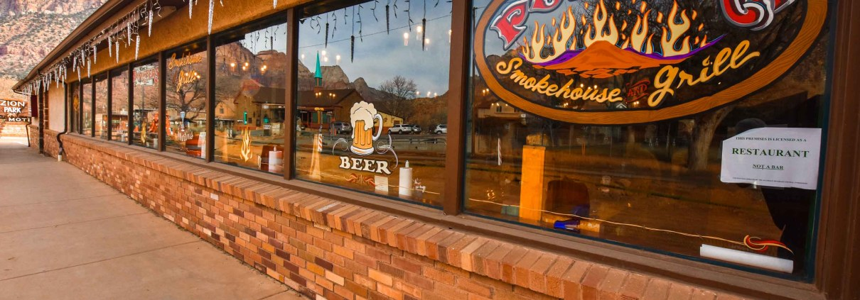 Porter's Smokehouse and Grill in Springdale, Utah