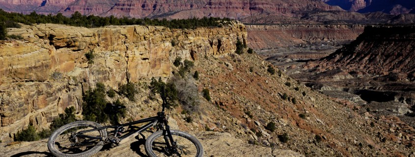 Mountain Bike near Zion
