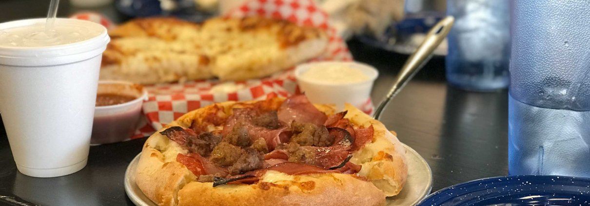 Roy's Solo Meat Lover Pizza