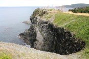 Another look at the cliffs behind Motion Drive.