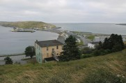 Ferryland Downs and Ferryland Head from the trail.