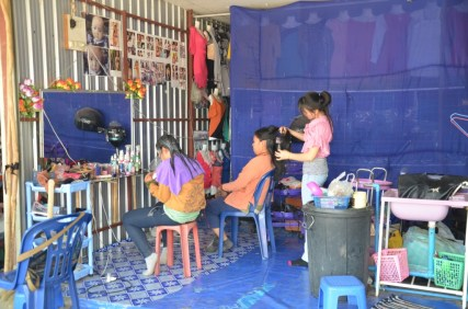 Friseur in Vang Vieng