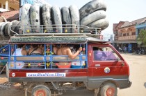 Tubing Shuttle in Vang Vieng