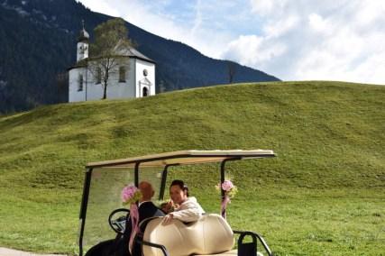 Mit dem Golf Caddy ins Glück! Herzlichen Glückwunsch!