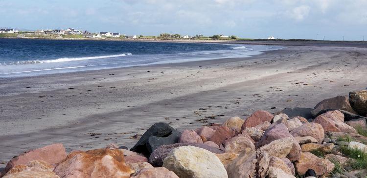 beach with rocks