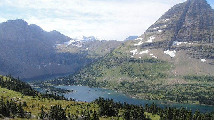 Hidden Lake view
