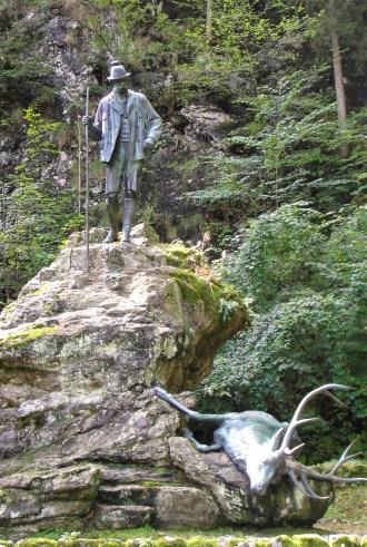 Franz Joseph statue