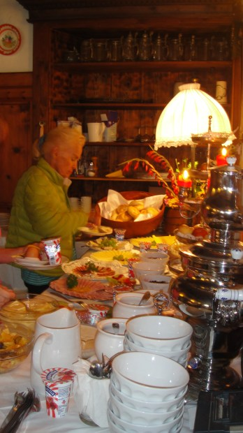breakfast at Braugasthof
