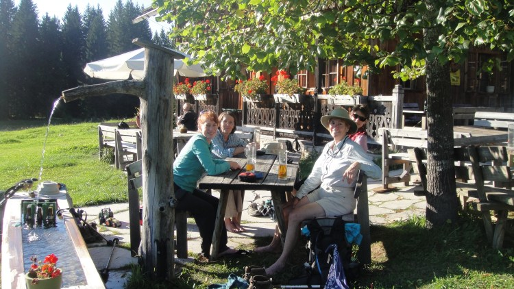 relax at Steinitzenalm