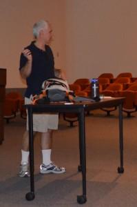 Hiking safety presentation at PNNL