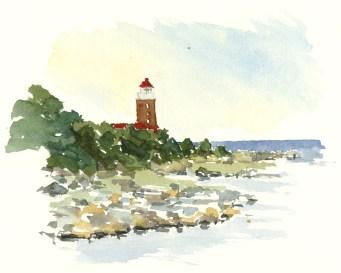 The Lighthouse at Svaneke