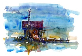 house-in-watercolor
