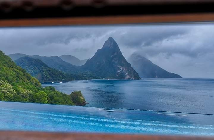 caille blanc villa st lucia pitons