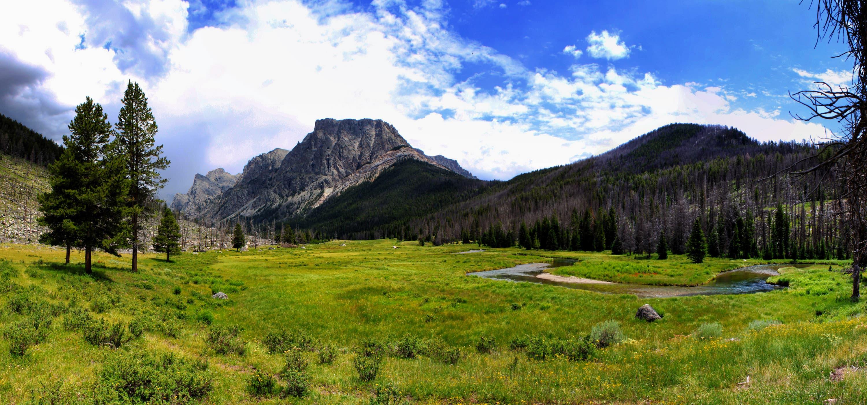 Flat Top Mountain in Wyoming