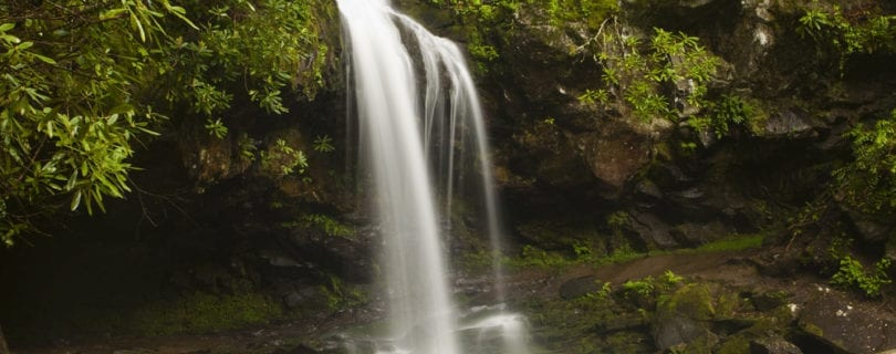 """Each """"walk through the grotto"""" Hiking The Grotto Falls Trail In The Great Smoky Mountains"""