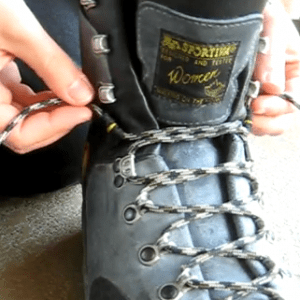 How to Lace Hiking Boots to Prevent Heel Blisters