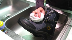 Step 2: Dry Your Boots Using a Rag