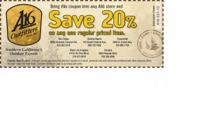 Adventure 16 coupon
