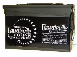 Ammo Box for Fayetteville Trail Trek