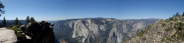 Panoramic View from Taft Point