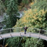 Hiking Lady at Capilano Cliff Walk