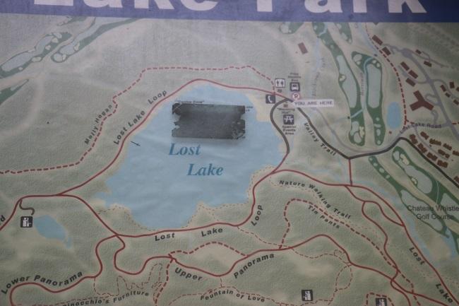Hiking Lost Lake Loop, Whistler