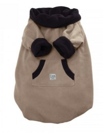 7 AM Easy Cover Fleece, brown