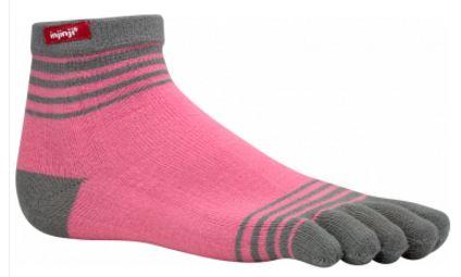 Injinji Kids Lightweight Micro Socks, Pink, $10.00