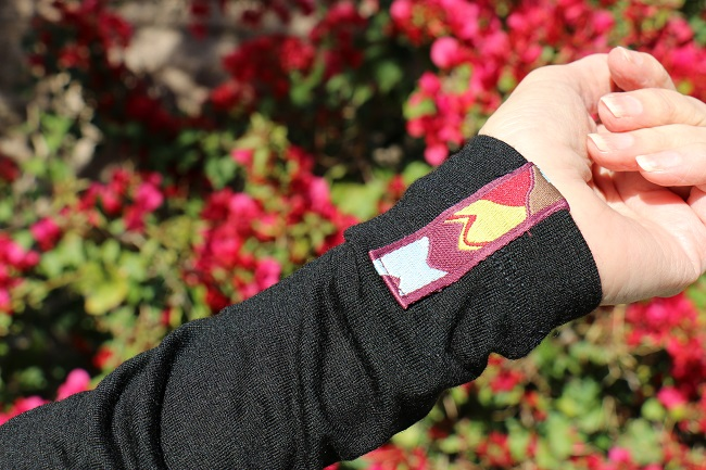 Kora Yak Wool Shola 230 Zip sleeve detail