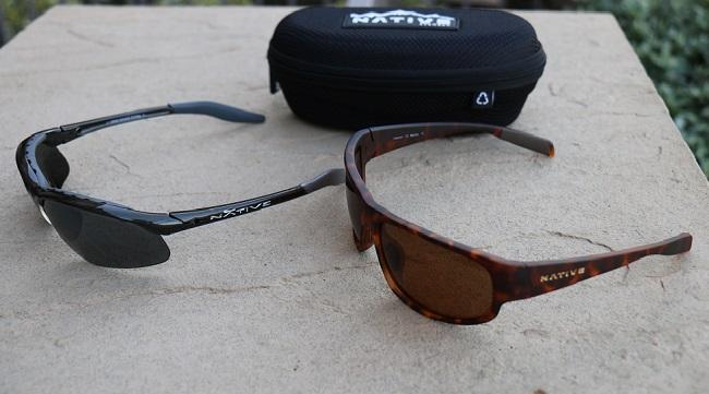 Native Polarized Sunglasses - Hardtop XP and Crestone