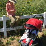 Hiking Lady and Hiking Baby