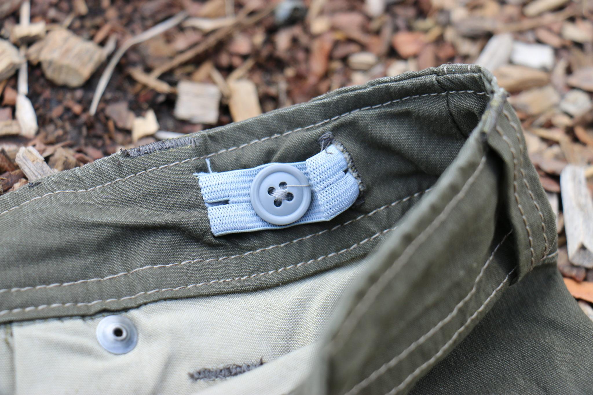 Adjustable inner waistband