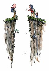 divided-by-gap-hikers-color-illustration-by-frits-ahlefeldt