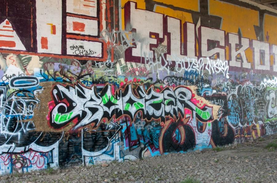 Urban art along the Otay Valley Regional Park trail.