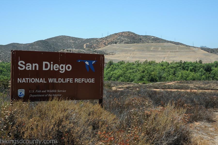 San Diego National Wildlife Refuge - Sweetwater River Trail - Hiking
