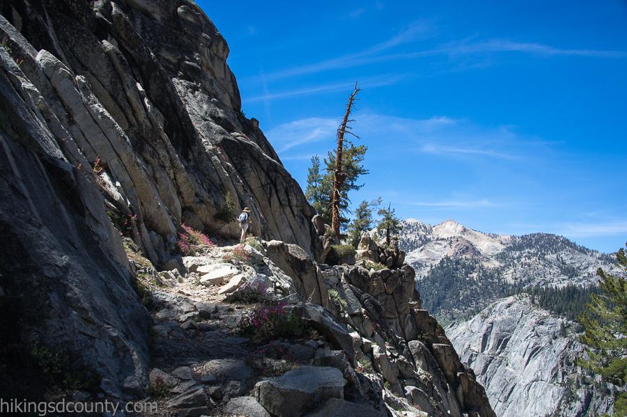 Sequoia National Park Watchtower Trail