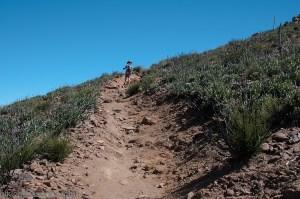 Climbing the Garnet Peak Trail